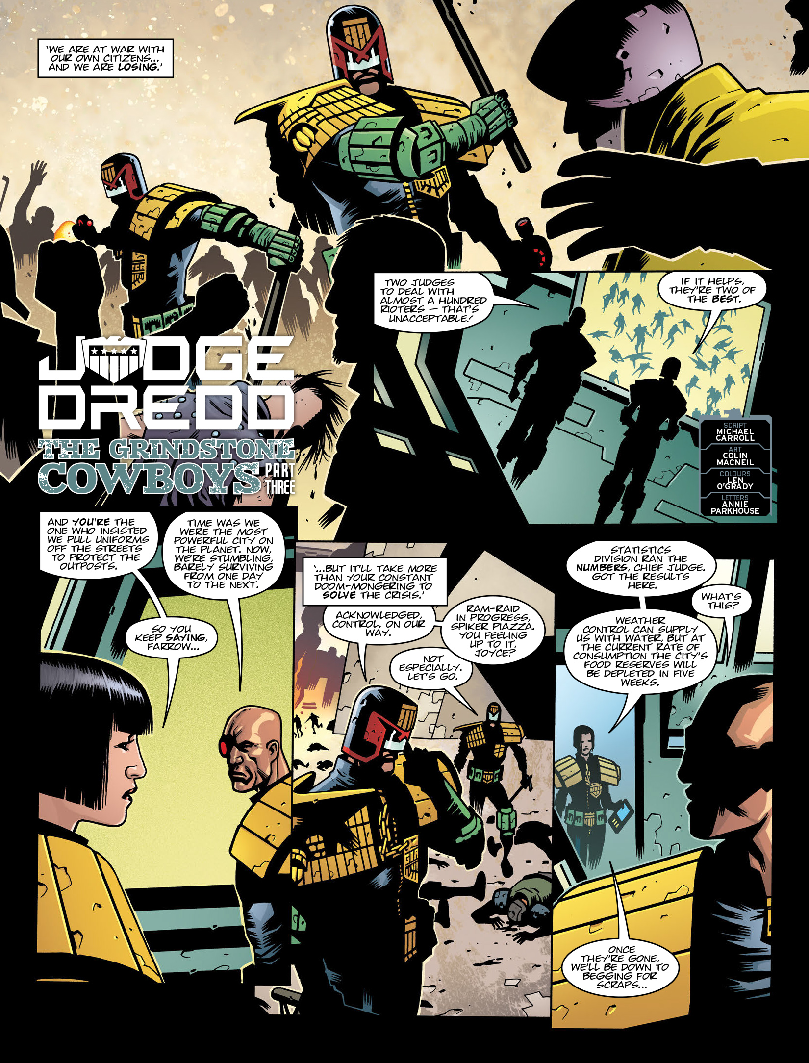 Read online 2000 AD comic -  Issue #1975 - 3