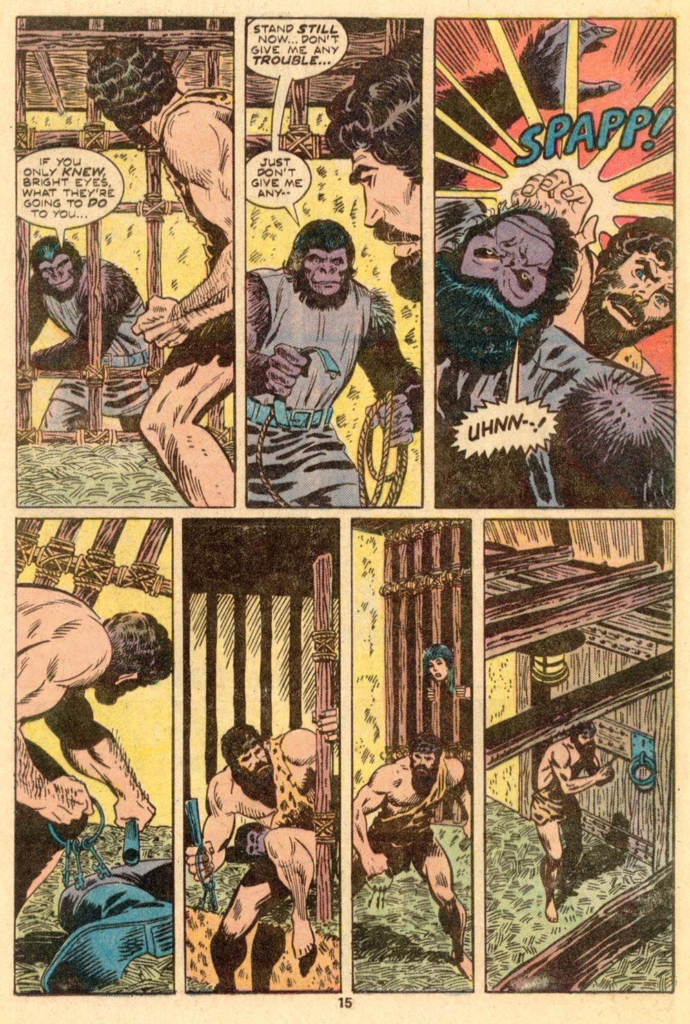 Read online Adventures on the Planet of the Apes comic -  Issue #3 - 10