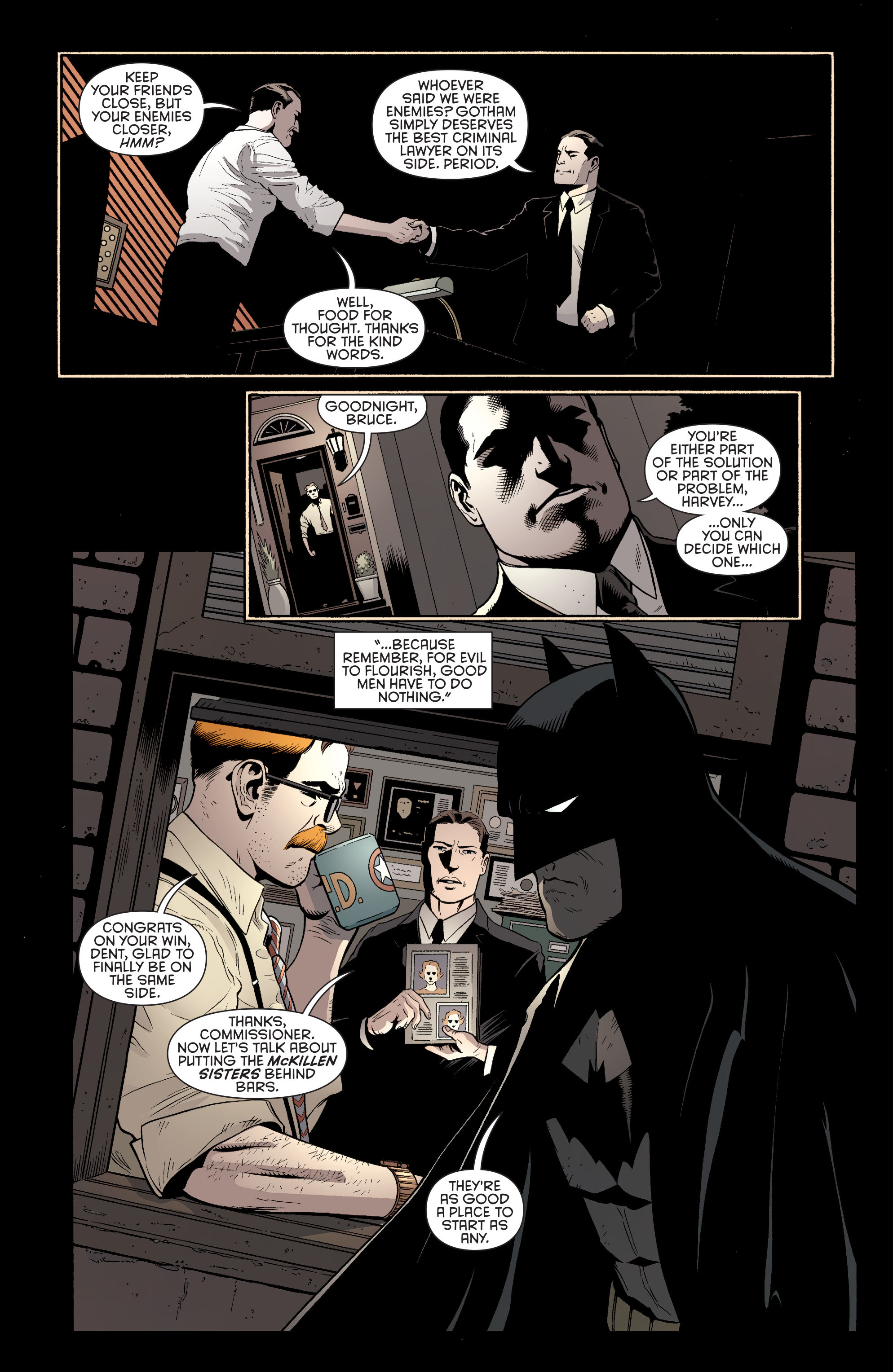 Read online Batman and Robin (2011) comic -  Issue #27 - Batman and Two-Face - 18