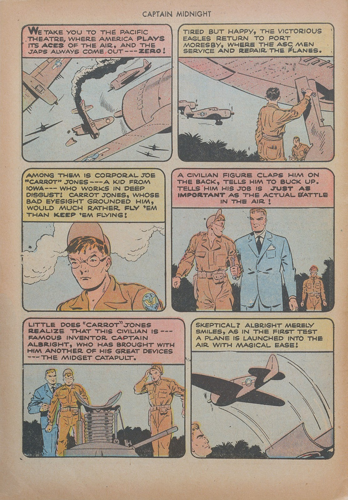 Captain Midnight (1942) issue 20 - Page 6