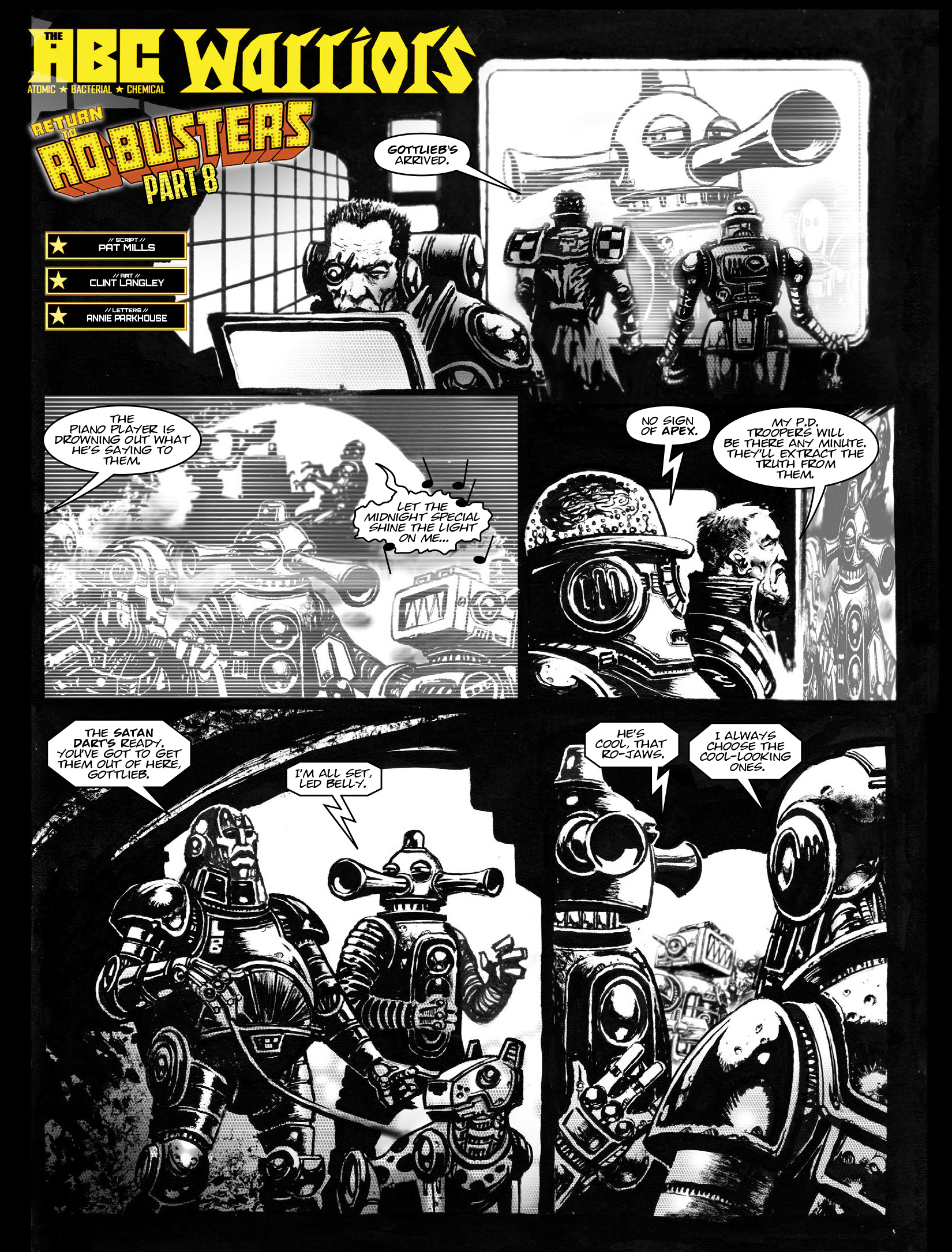 Read online 2000 AD comic -  Issue #1968 - 14