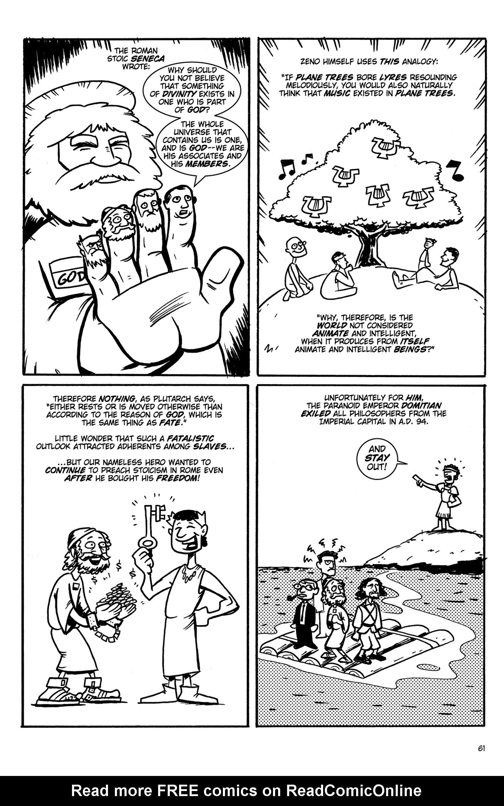 Read online Action Philosophers! comic -  Issue #Action Philosophers! TPB (Part 1) - 61