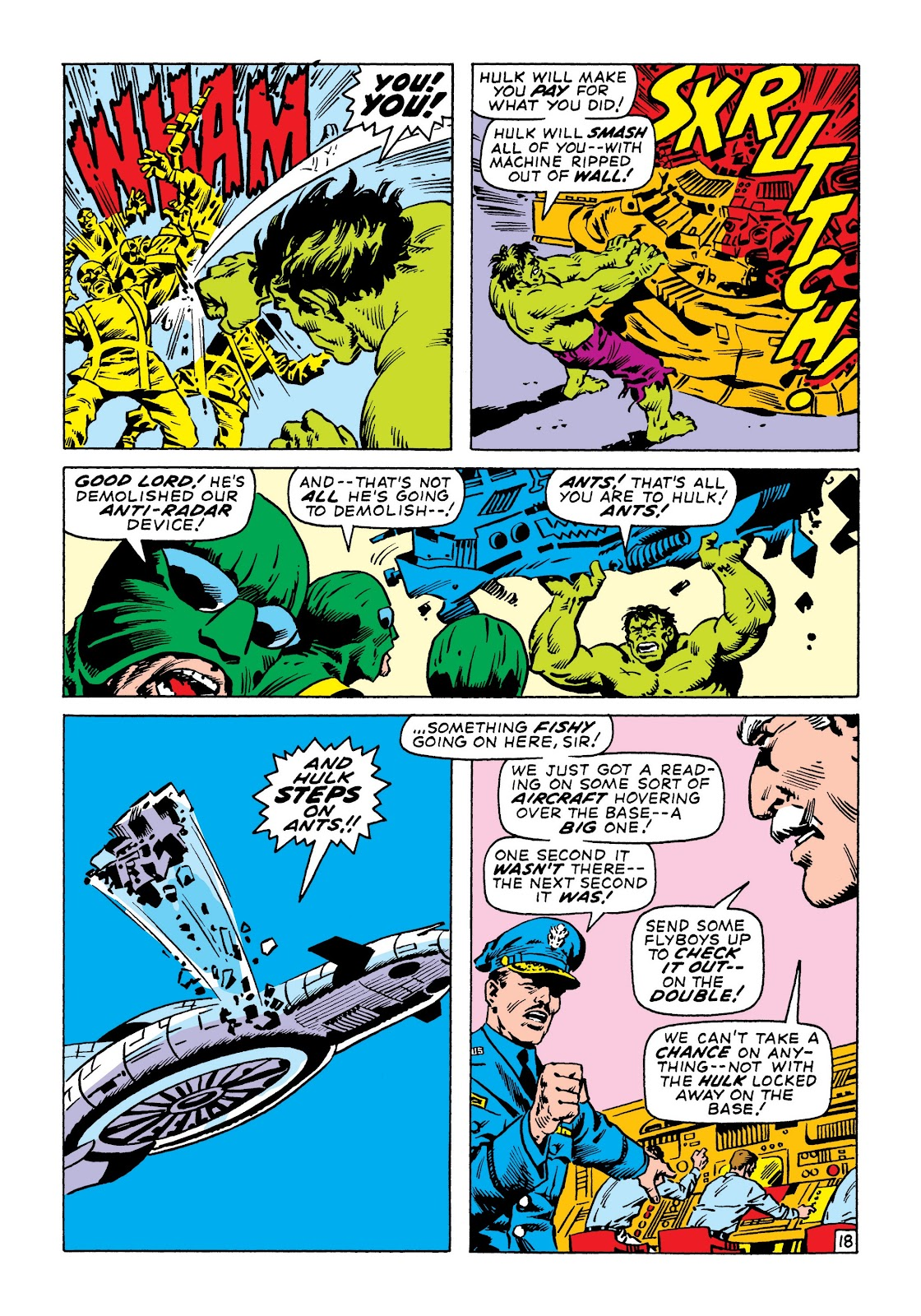 Read online Marvel Masterworks: The Incredible Hulk comic -  Issue # TPB 6 (Part 3) - 31