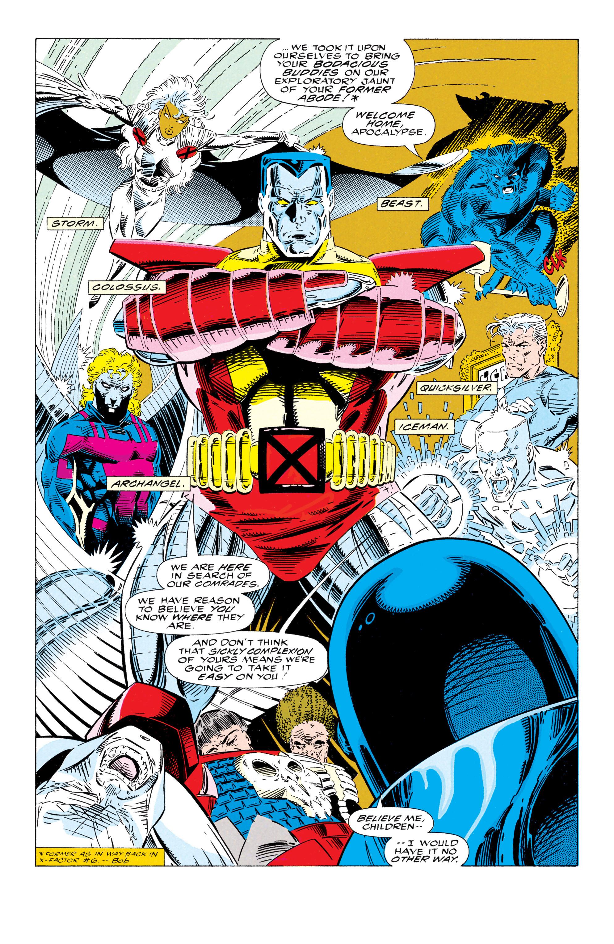 Read online Uncanny X-Men (1963) comic -  Issue #295 - 4
