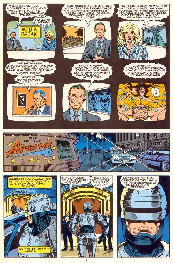 Read online Robocop (1990) comic -  Issue #1 - 8
