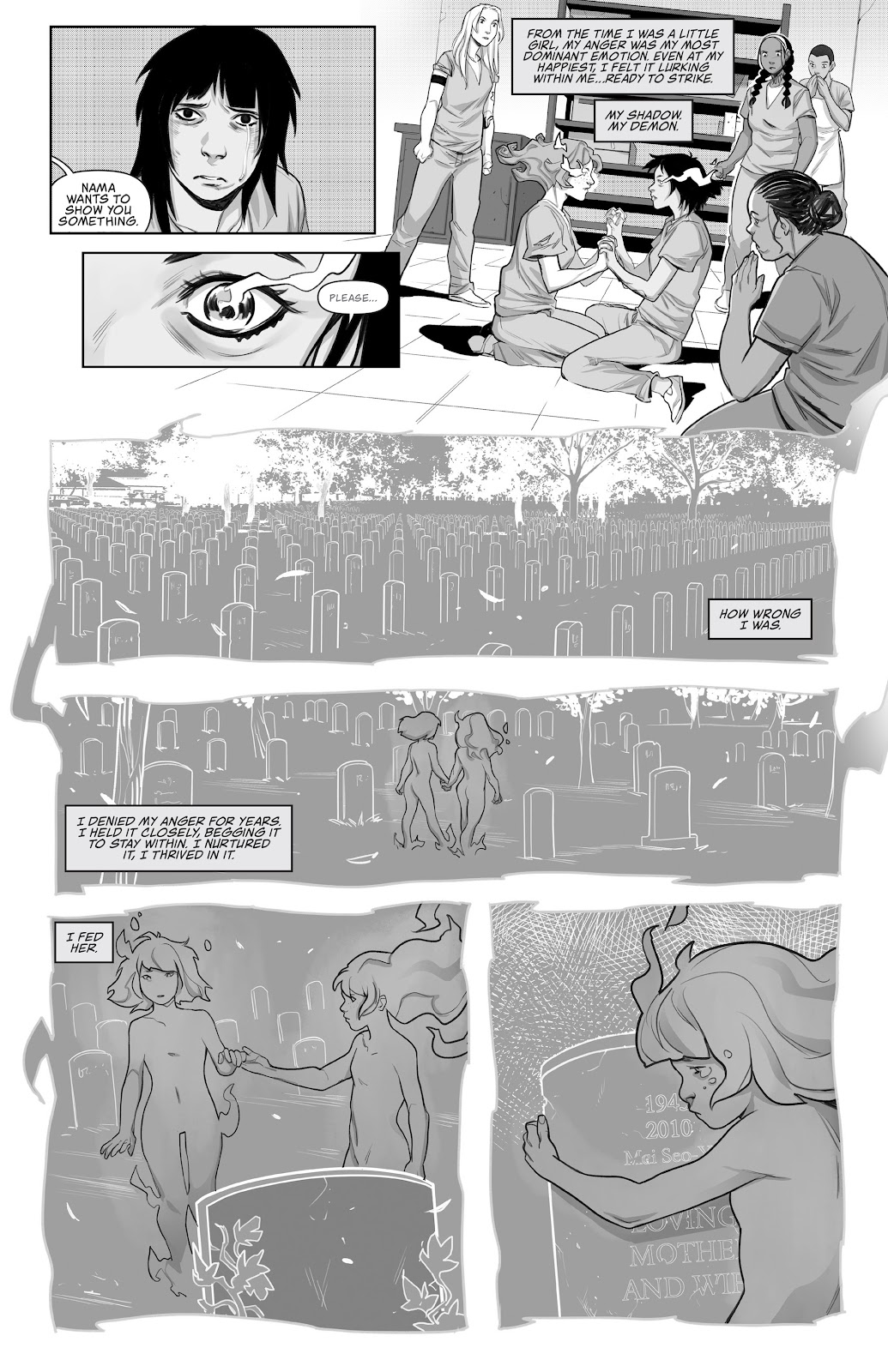Read online Prison Witch comic -  Issue #3 - 19