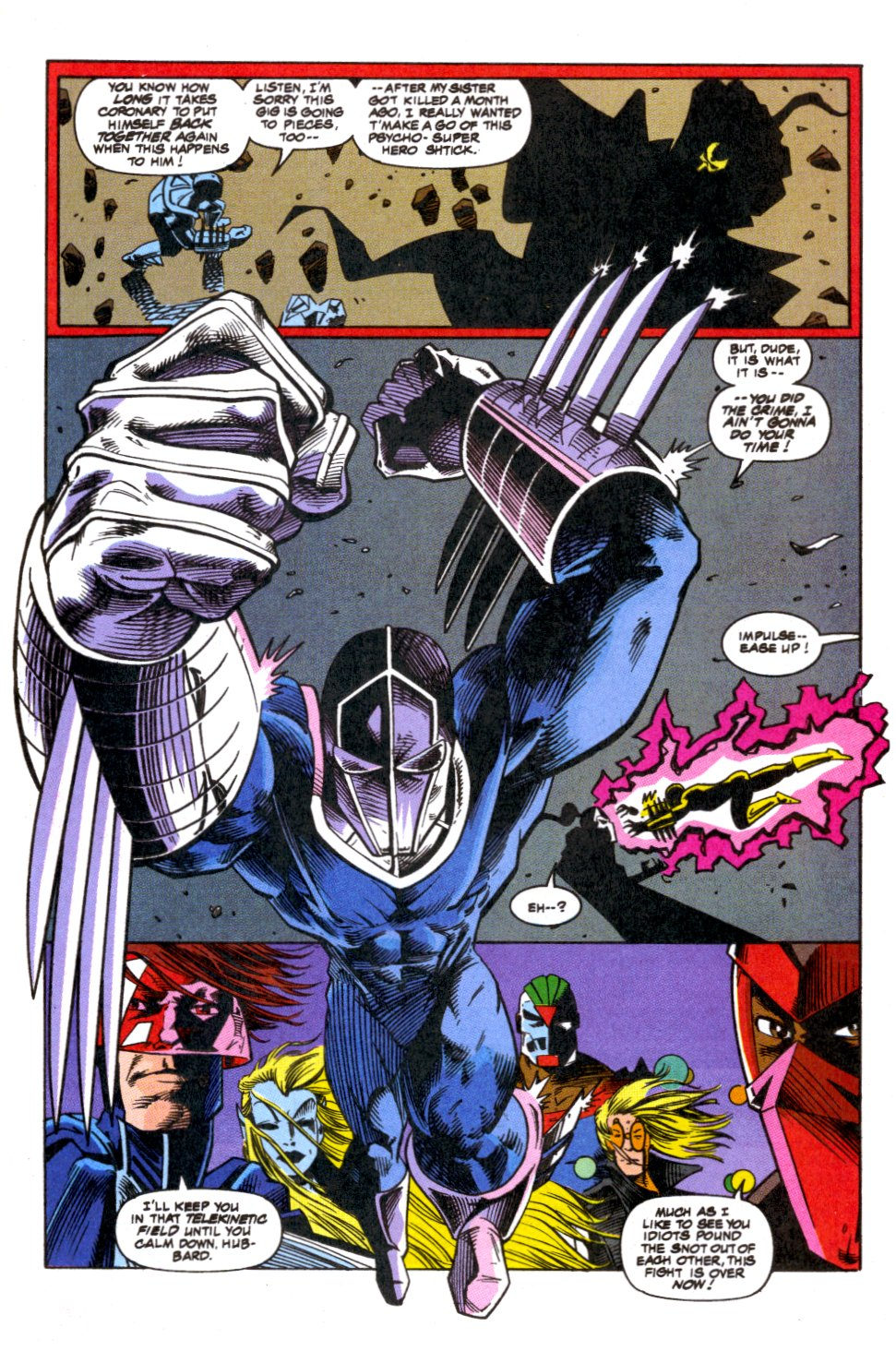 The New Warriors Issue #52 #56 - English 16