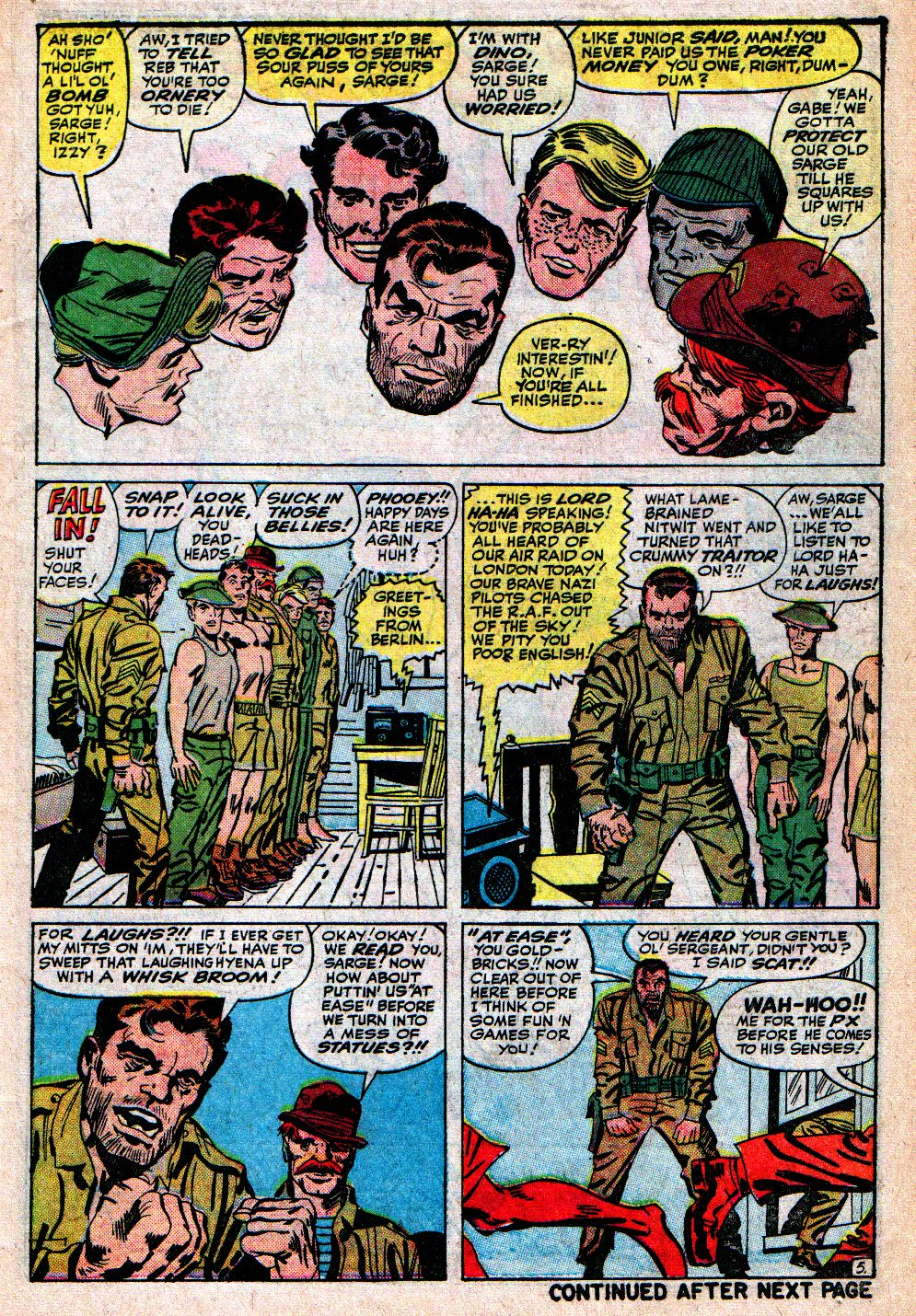 Read online Sgt. Fury comic -  Issue #4 - 7