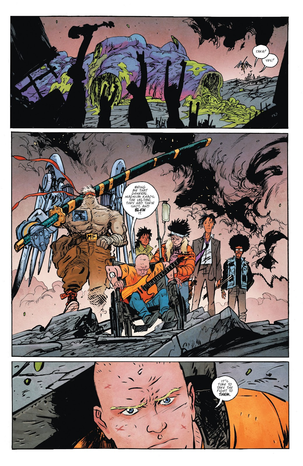 Read online Murder Falcon comic -  Issue #7 - 24