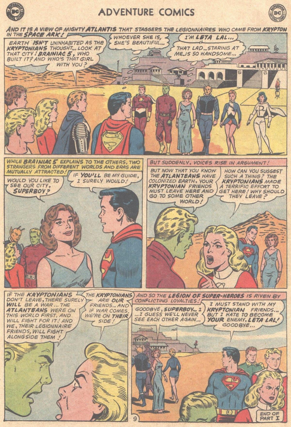 Read online Adventure Comics (1938) comic -  Issue #333 - 10