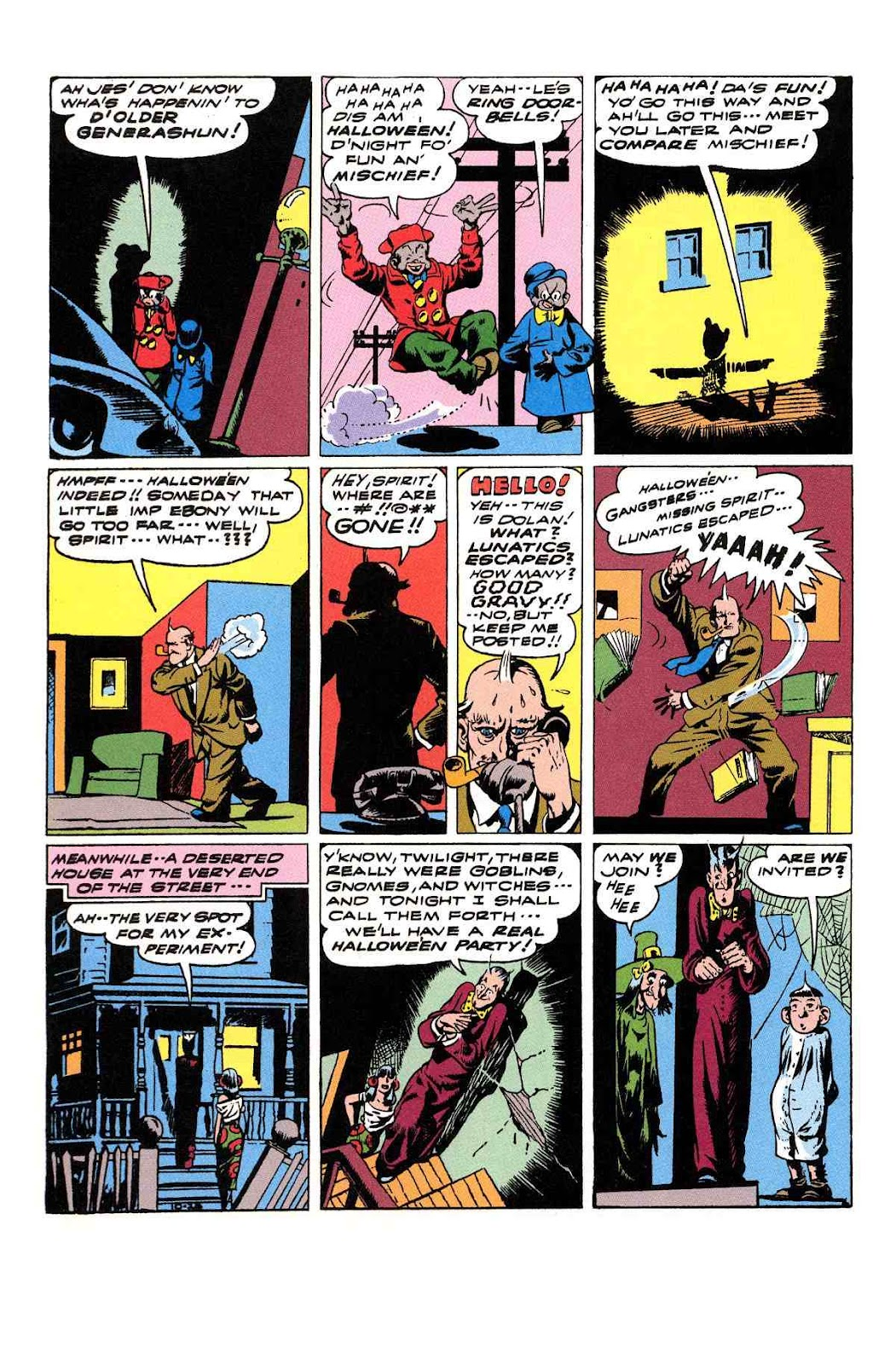 Read online Will Eisner's The Spirit Archives comic -  Issue # TPB 3 (Part 2) - 33