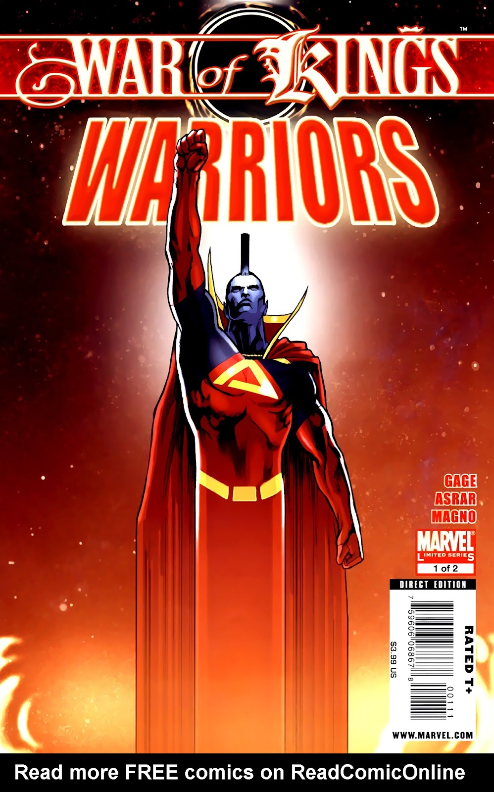 War of Kings: Warriors Issue #1 #1 - English 1