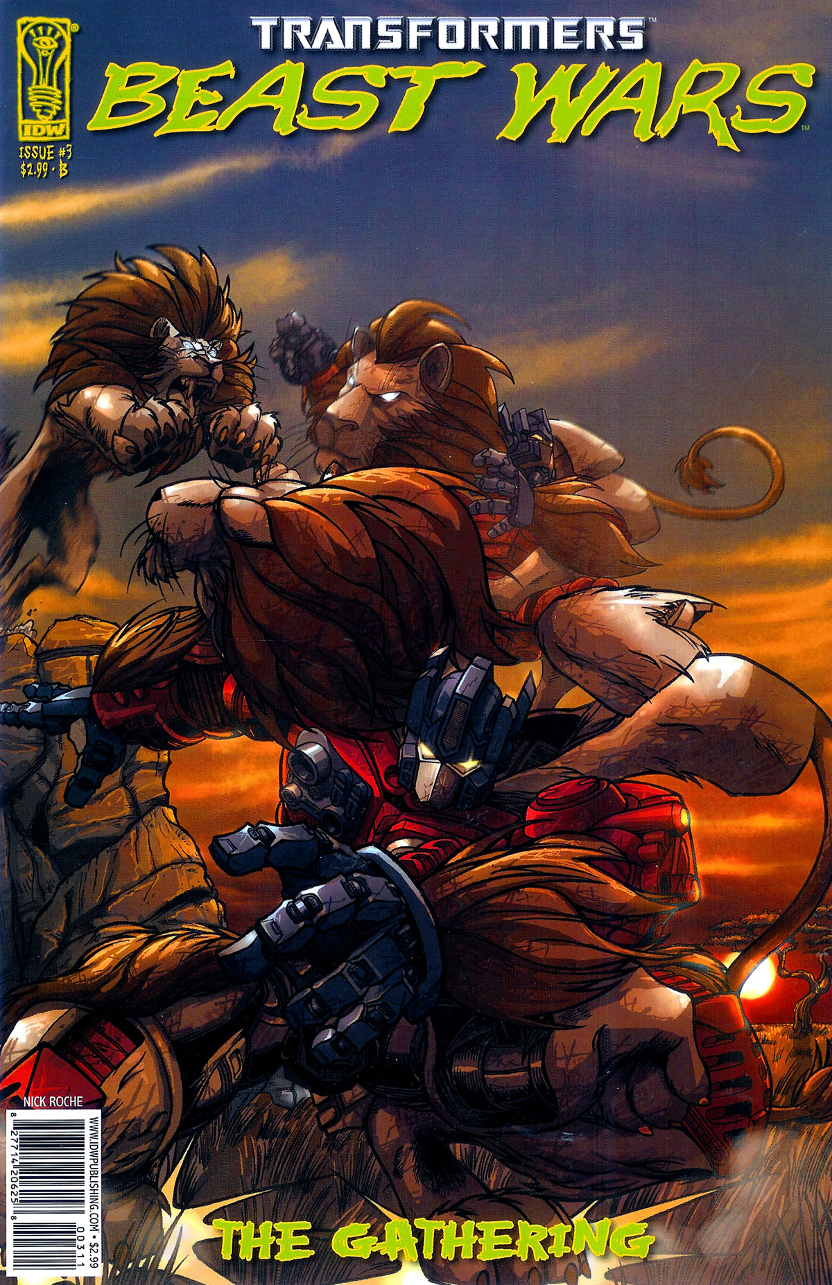 Read online Transformers, Beast Wars: The Gathering comic -  Issue #3 - 2