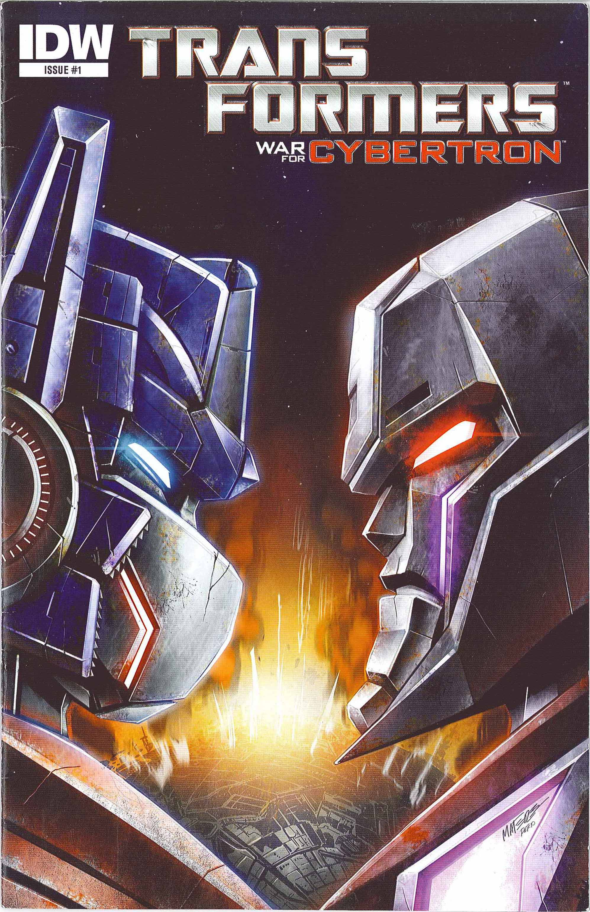 The Transformers: War For Cybertron Full Page 1