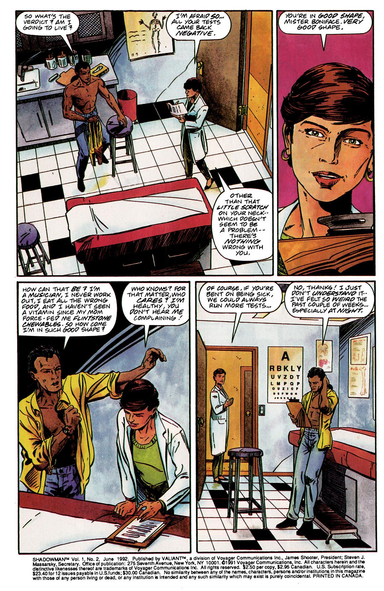Read online Shadowman (1992) comic -  Issue #2 - 3