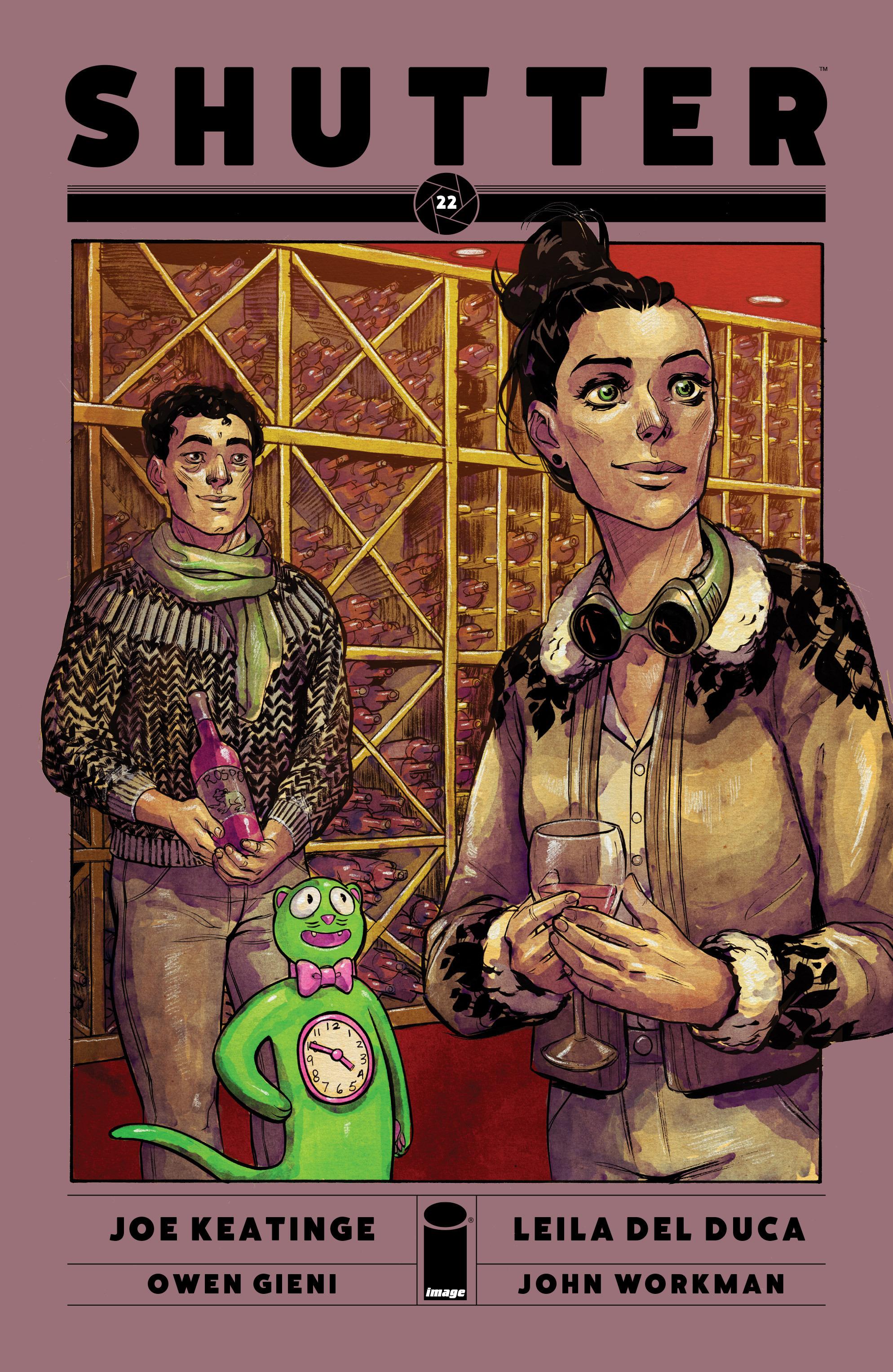 Read online Shutter comic -  Issue #22 - 1