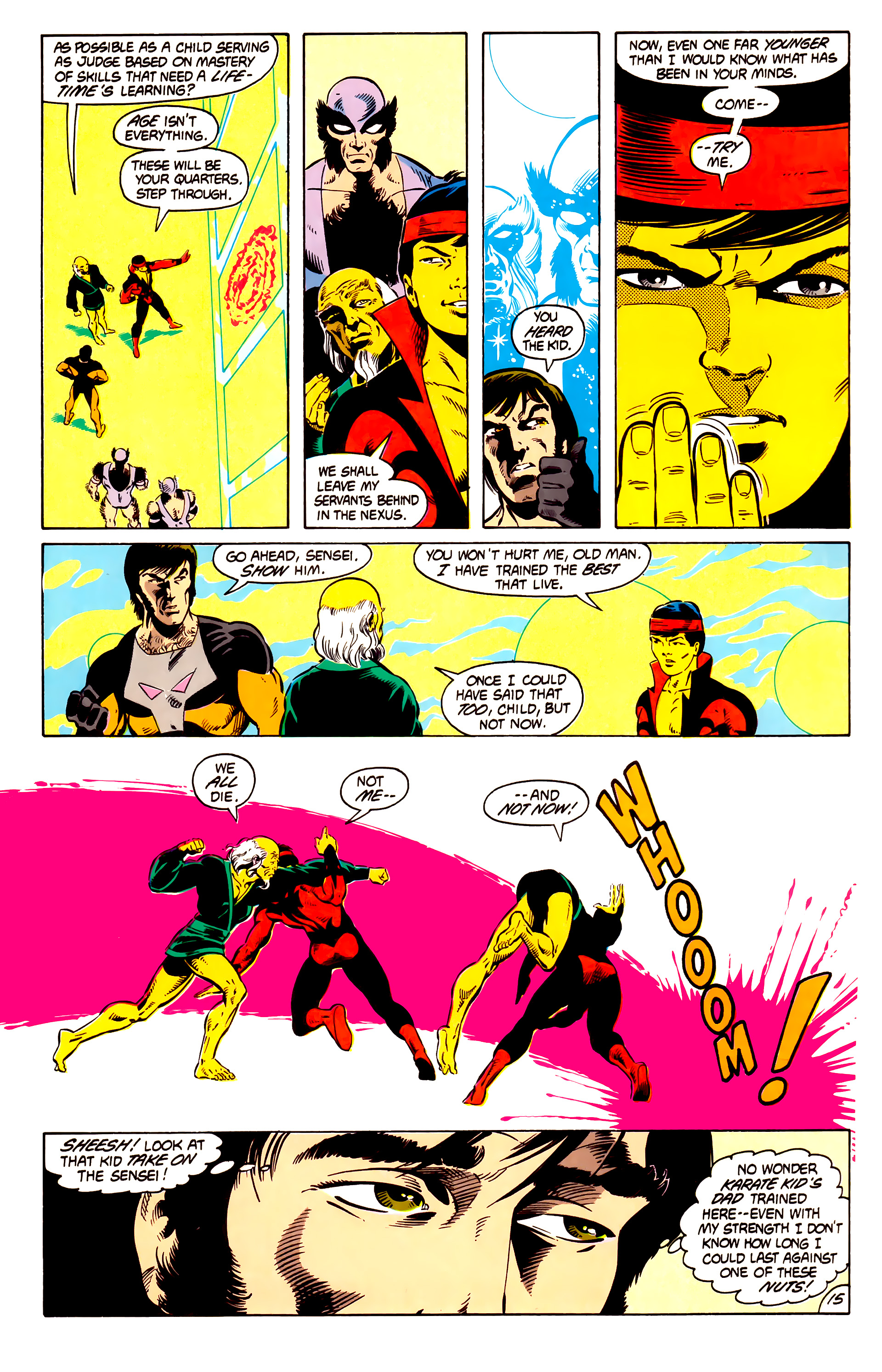 Legion of Super-Heroes (1984) 13 Page 16