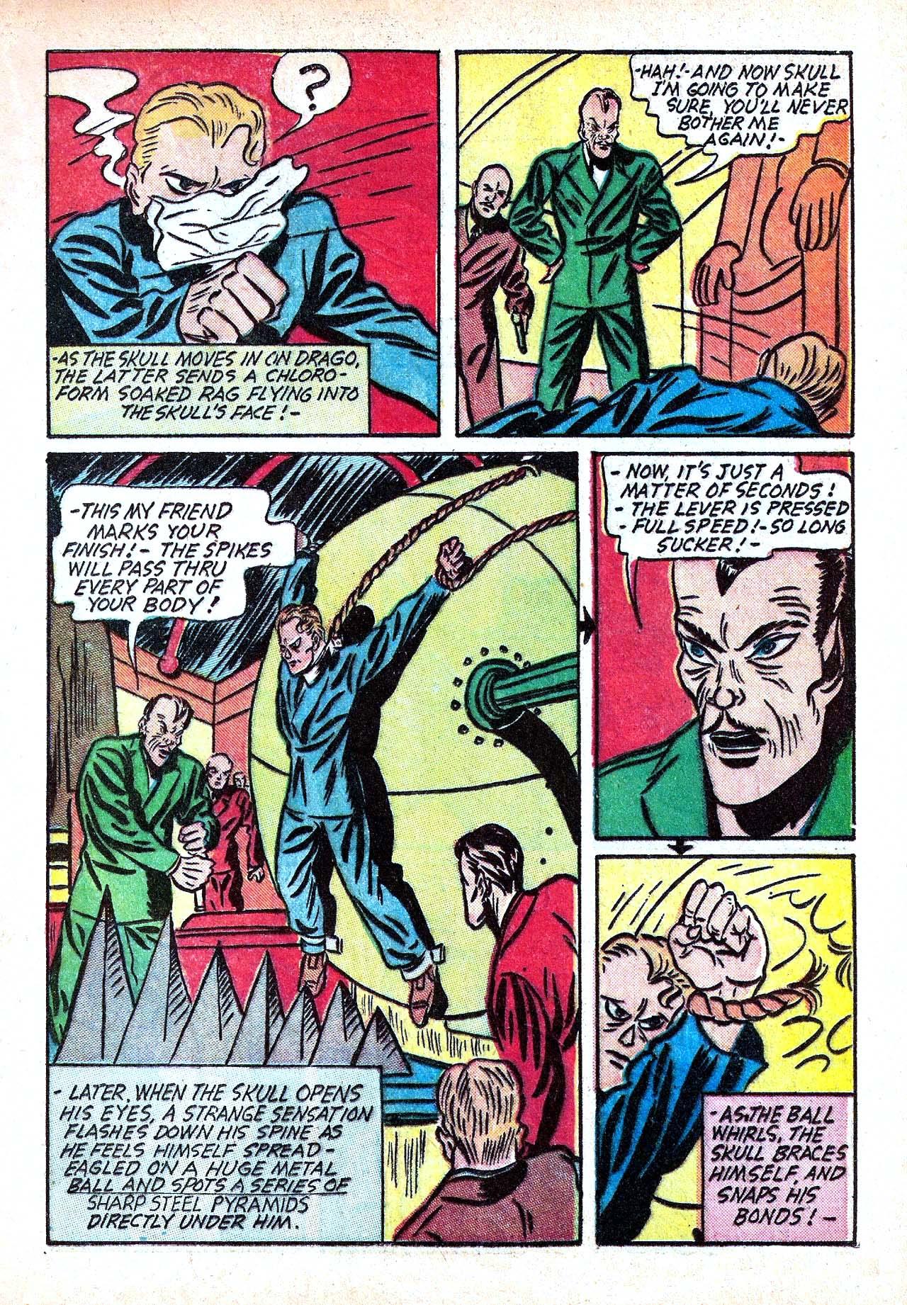 Read online Amazing Man Comics comic -  Issue #11 - 25