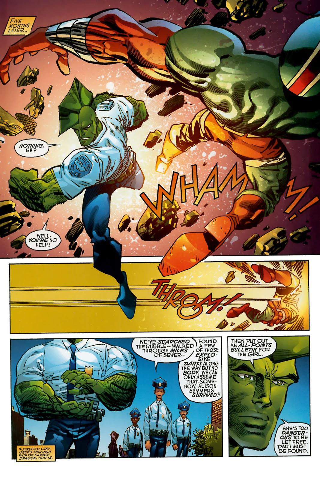 The Savage Dragon (1993) Issue #150 #153 - English 11