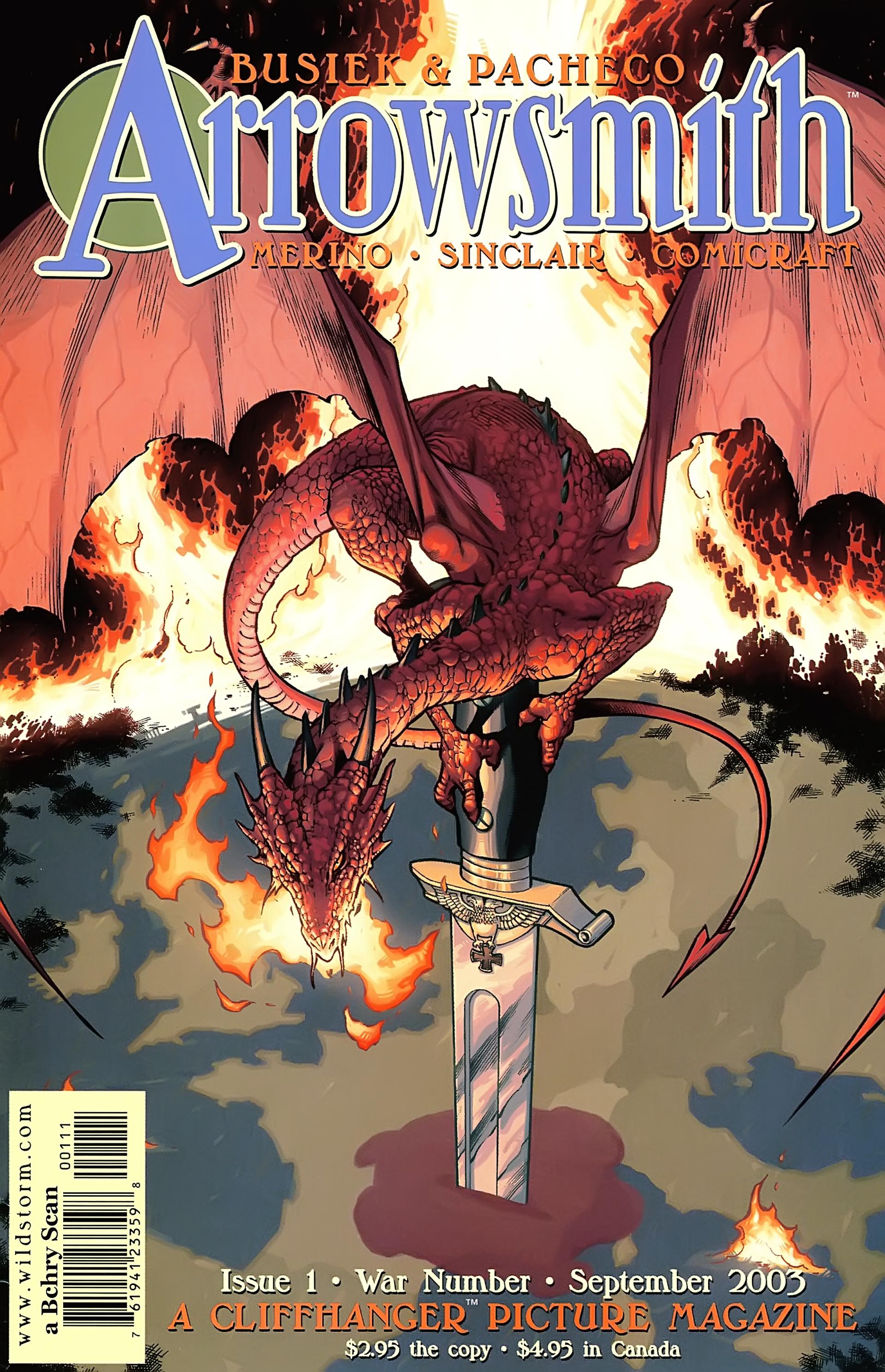 Read online Arrowsmith comic -  Issue #1 - 1