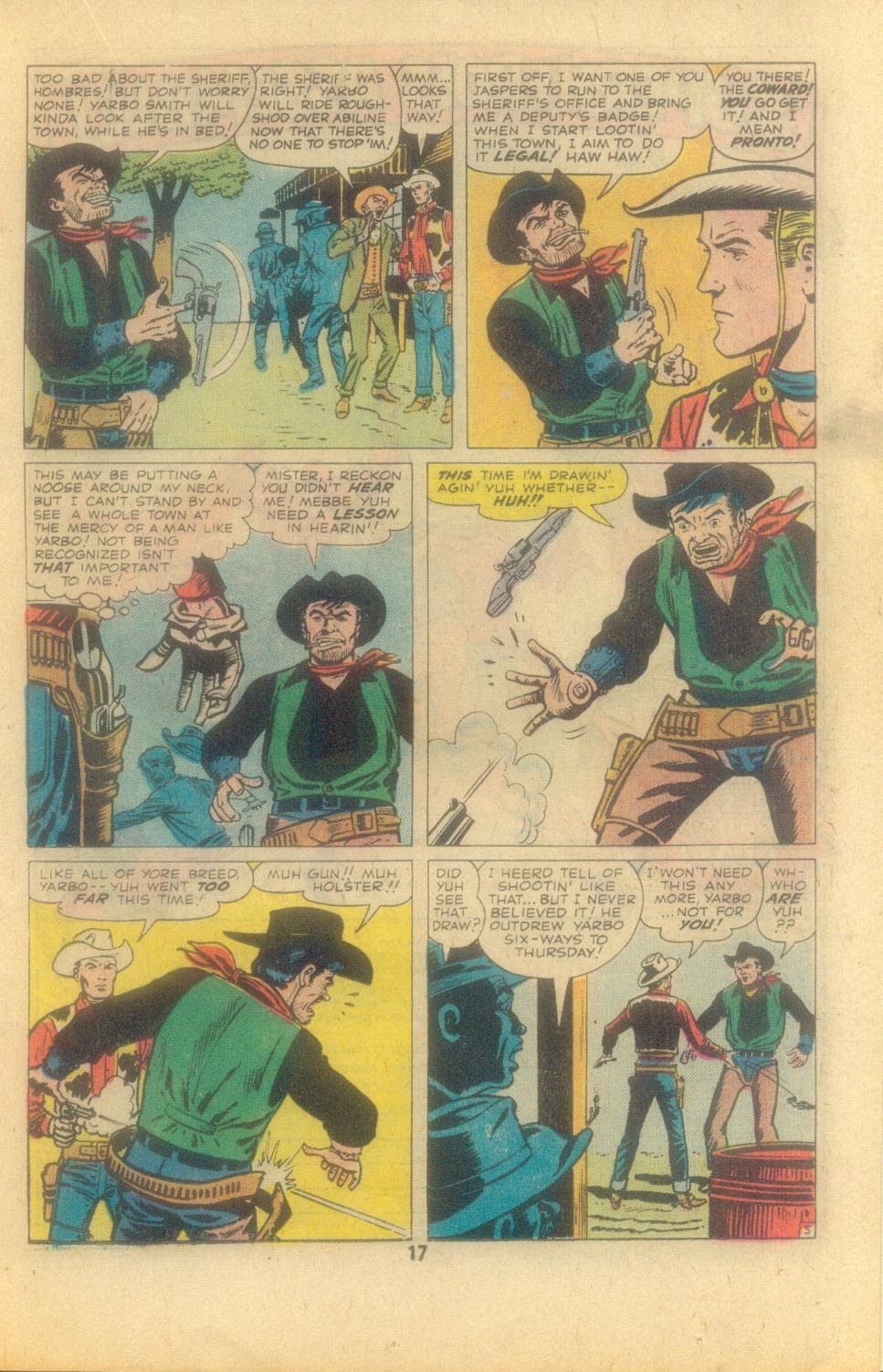 Kid Colt Outlaw issue 209 - Page 19