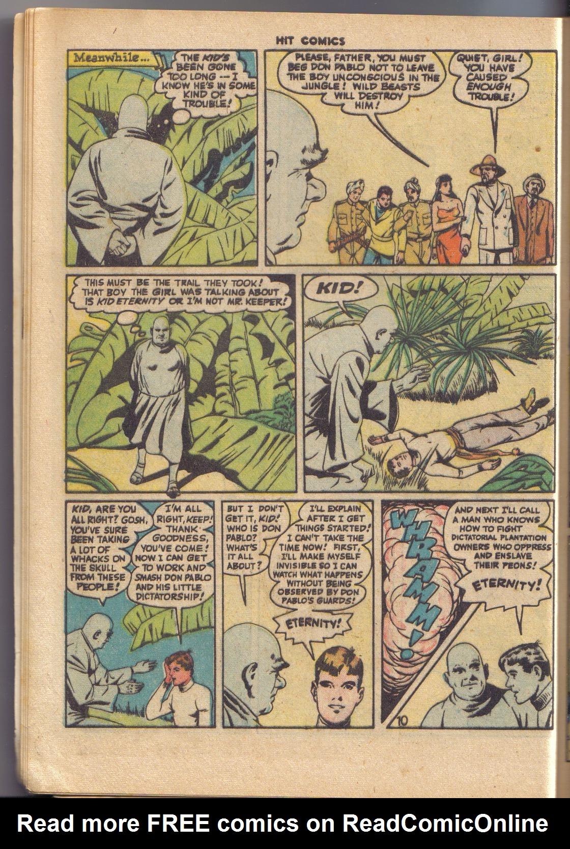 Read online Hit Comics comic -  Issue #45 - 12
