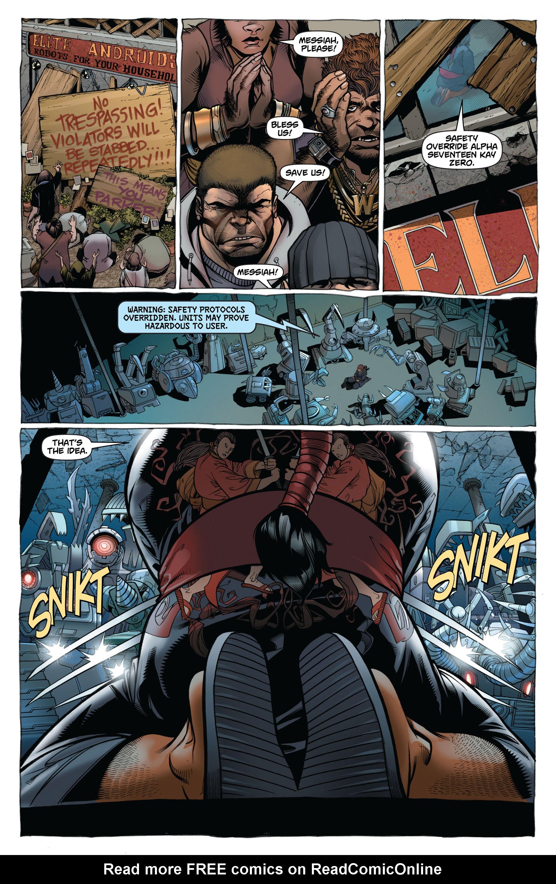 Read online Astonishing Spider-Man & Wolverine comic -  Issue #2 - 7