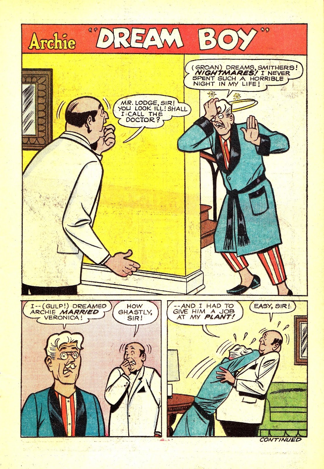 Read online Archie (1960) comic -  Issue #165 - 11