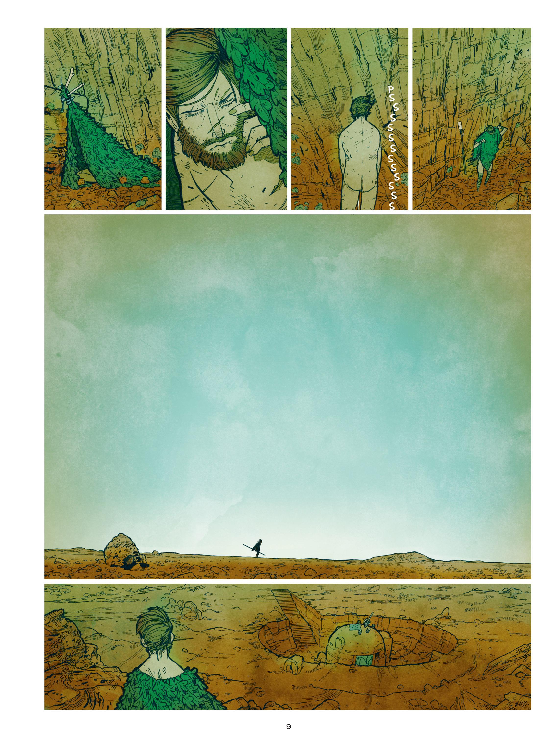 Read online Shangri-La comic -  Issue # Full - 11