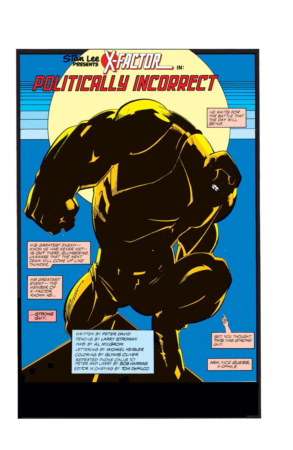 Read online X-Factor (1986) comic -  Issue #74 - 2