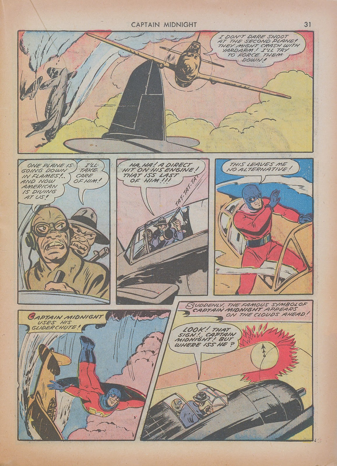 Captain Midnight (1942) issue 7 - Page 31
