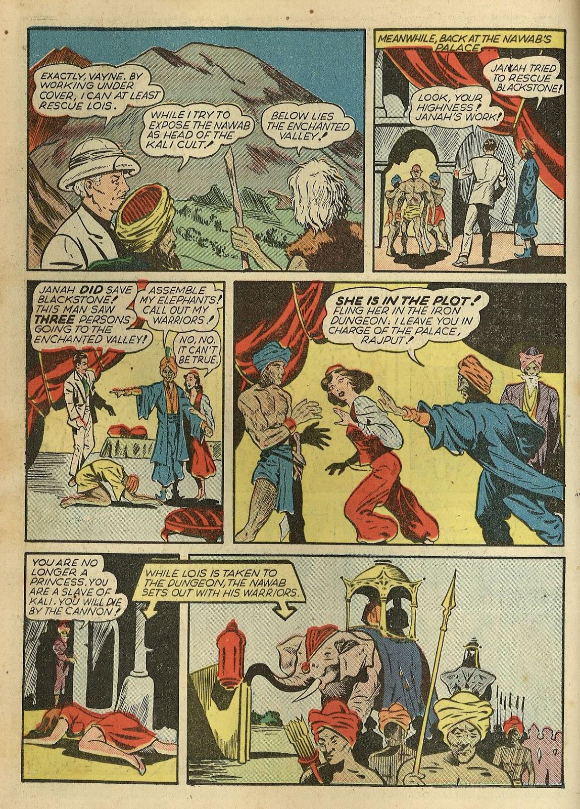 Read online Super-Magician Comics comic -  Issue #1 - 26