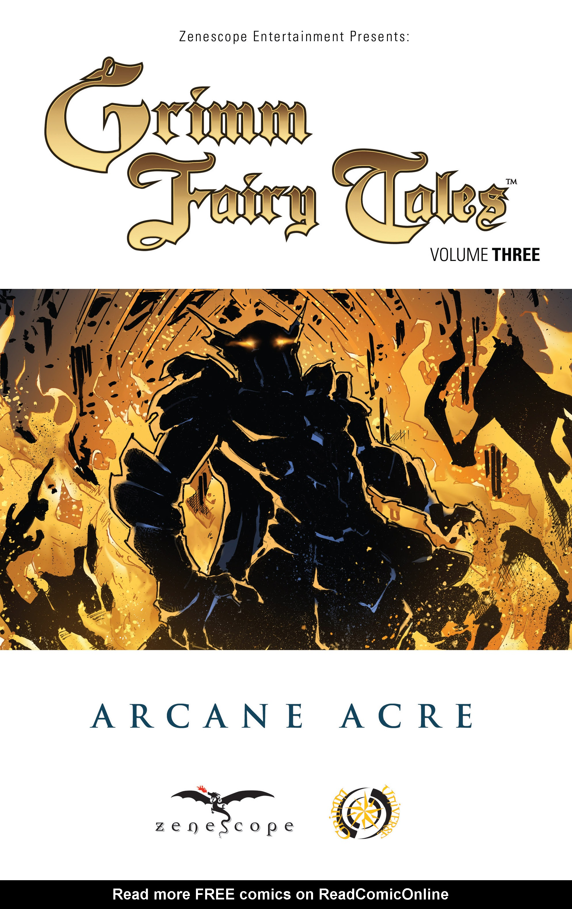 Read online Grimm Fairy Tales: Arcane Acre comic -  Issue # TPB 3 - 2