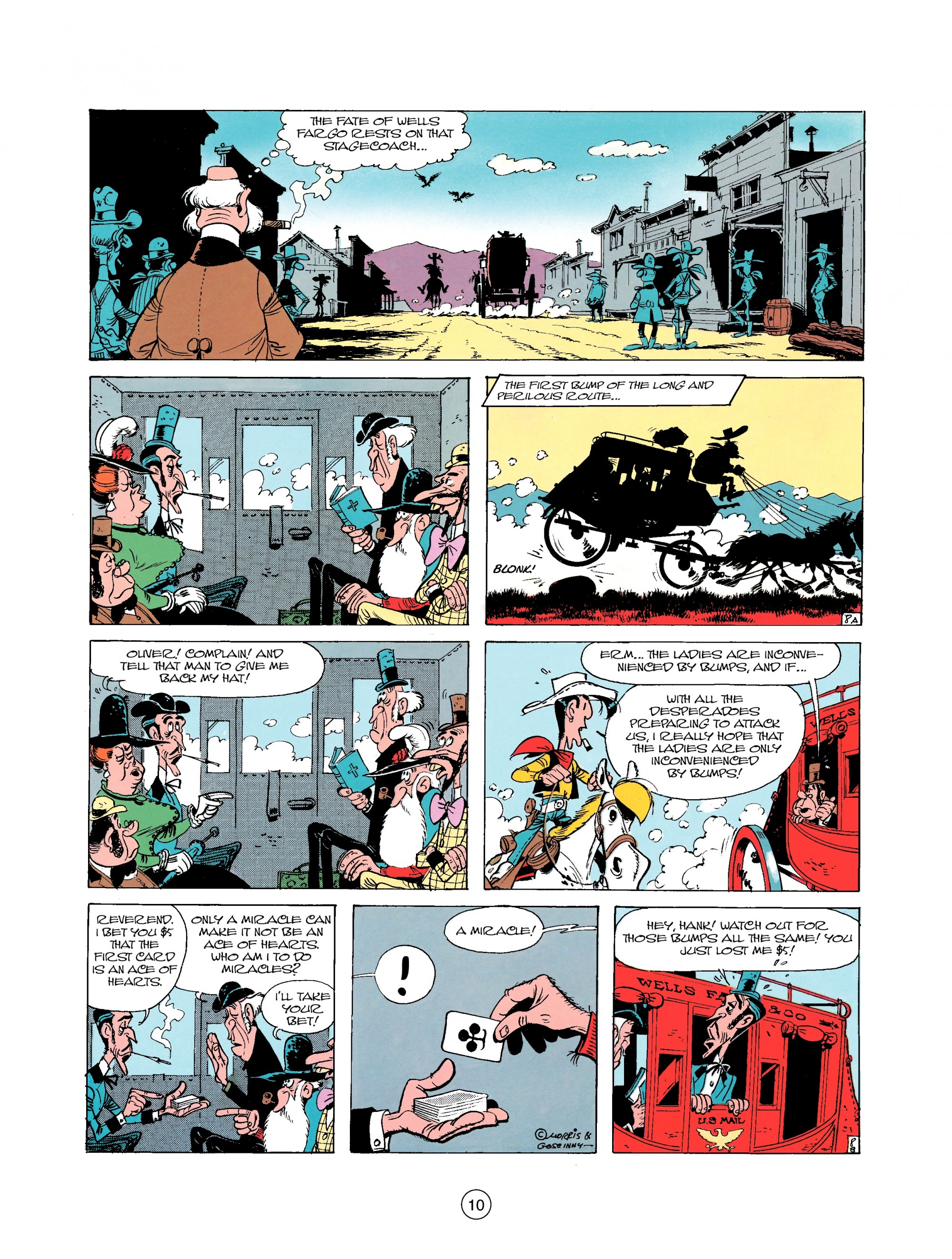 Read online A Lucky Luke Adventure comic -  Issue #25 - 10