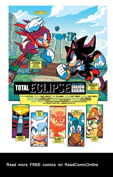 Read online Sonic Comics Spectacular: Speed of Sound comic -  Issue # Full - 213