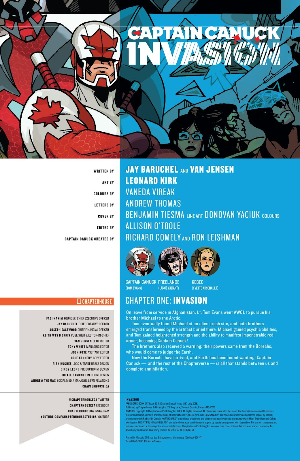 Captain Canuck: Invasion (Canada Day 2018) issue Full - Page 3