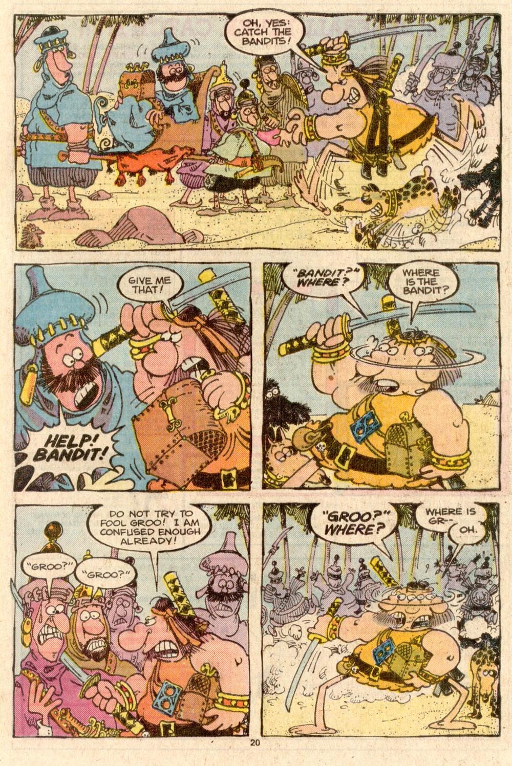 Read online Sergio Aragonés Groo the Wanderer comic -  Issue #44 - 21