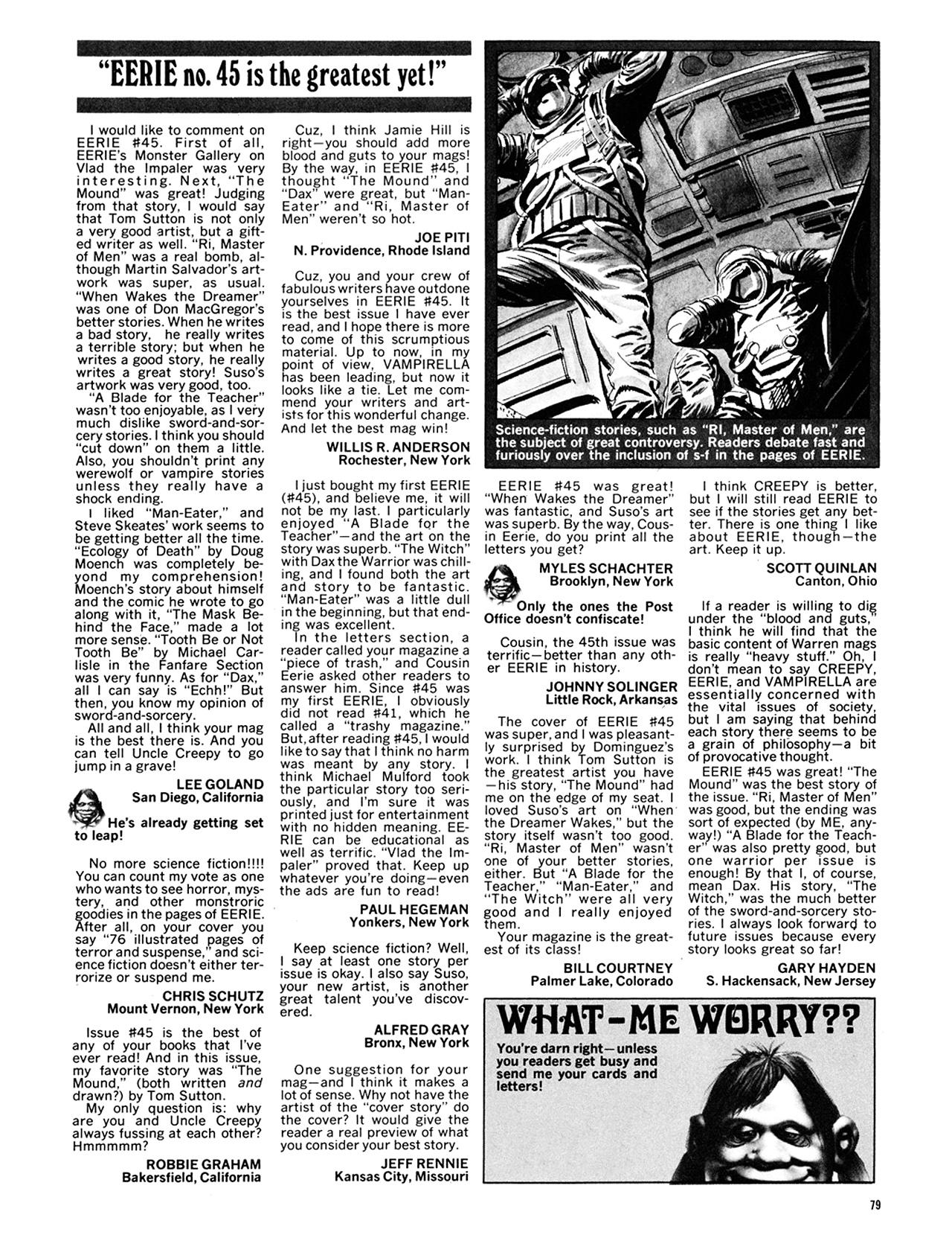 Read online Eerie Archives comic -  Issue # TPB 10 - 80