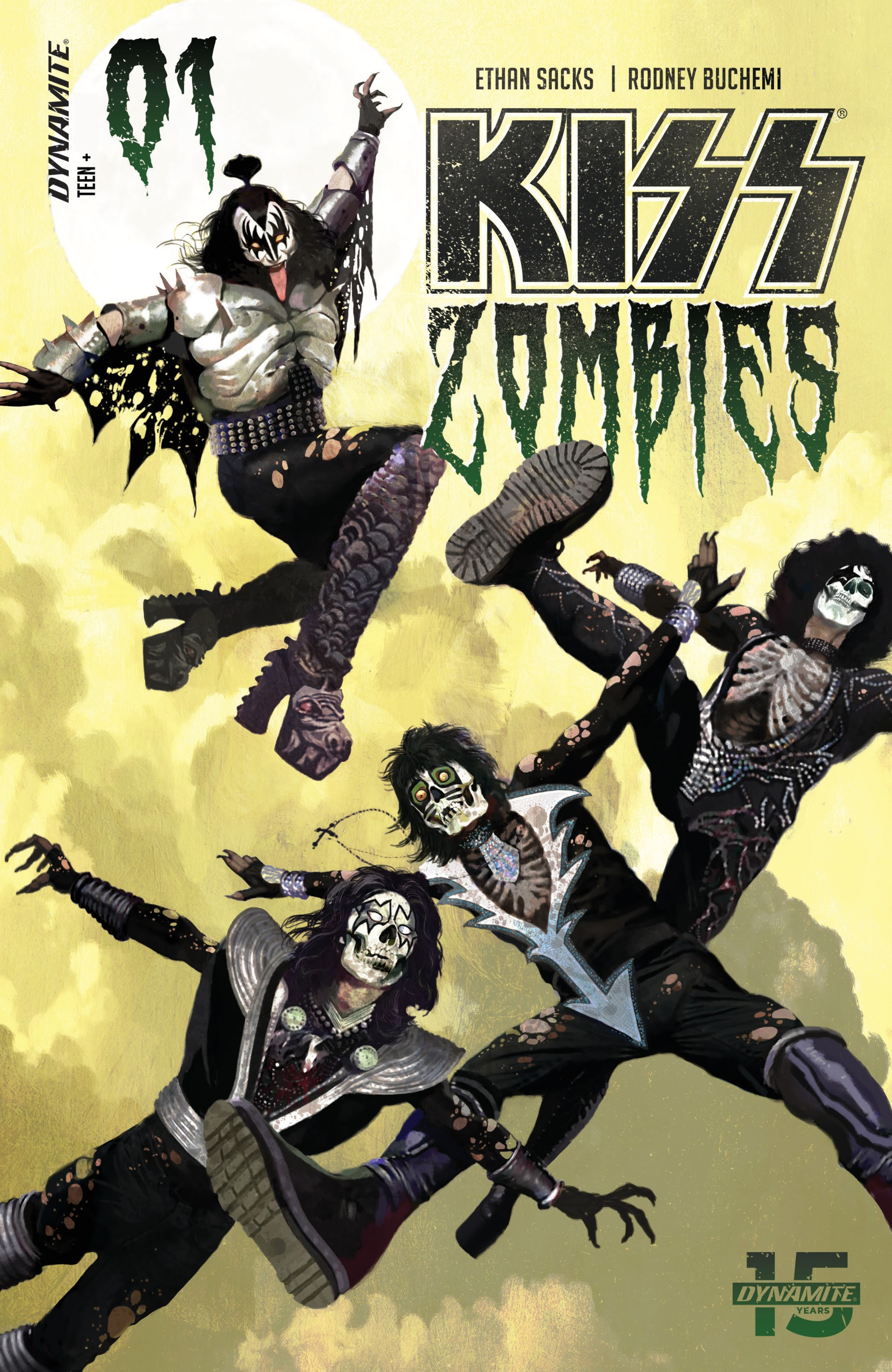Kiss: Zombies 1 Page 1