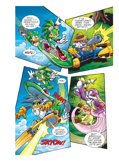 Read online Sonic Comics Spectacular: Speed of Sound comic -  Issue # Full - 181