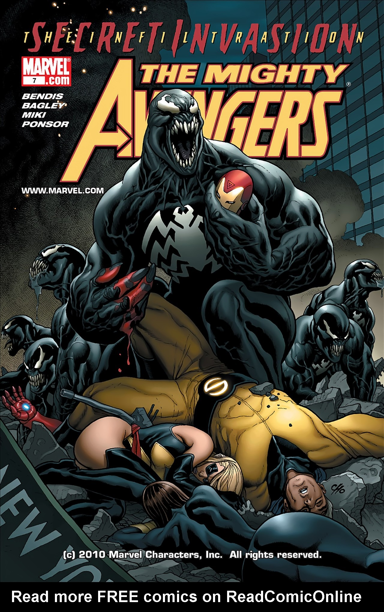 The Mighty Avengers 7 Page 1