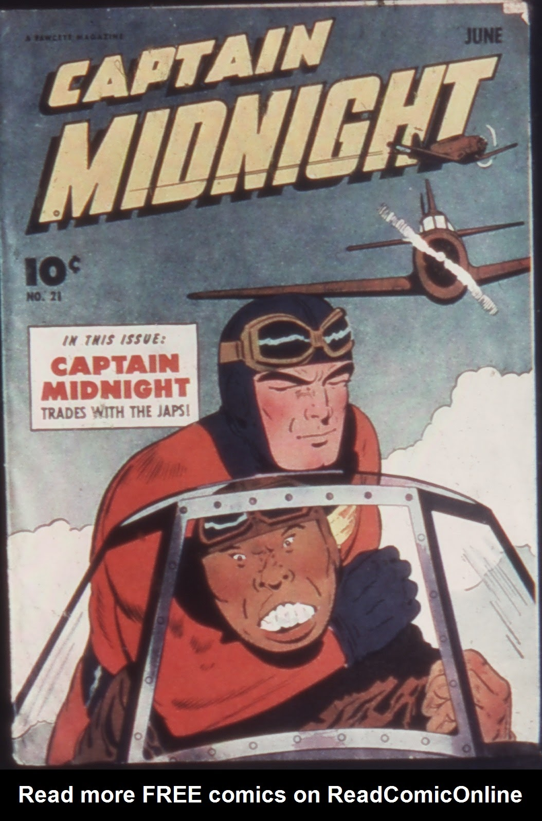 Captain Midnight (1942) issue 21 - Page 1