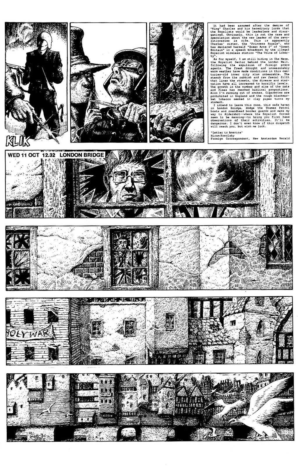 Read online The Adventures of Luther Arkwright comic -  Issue #5 - 10