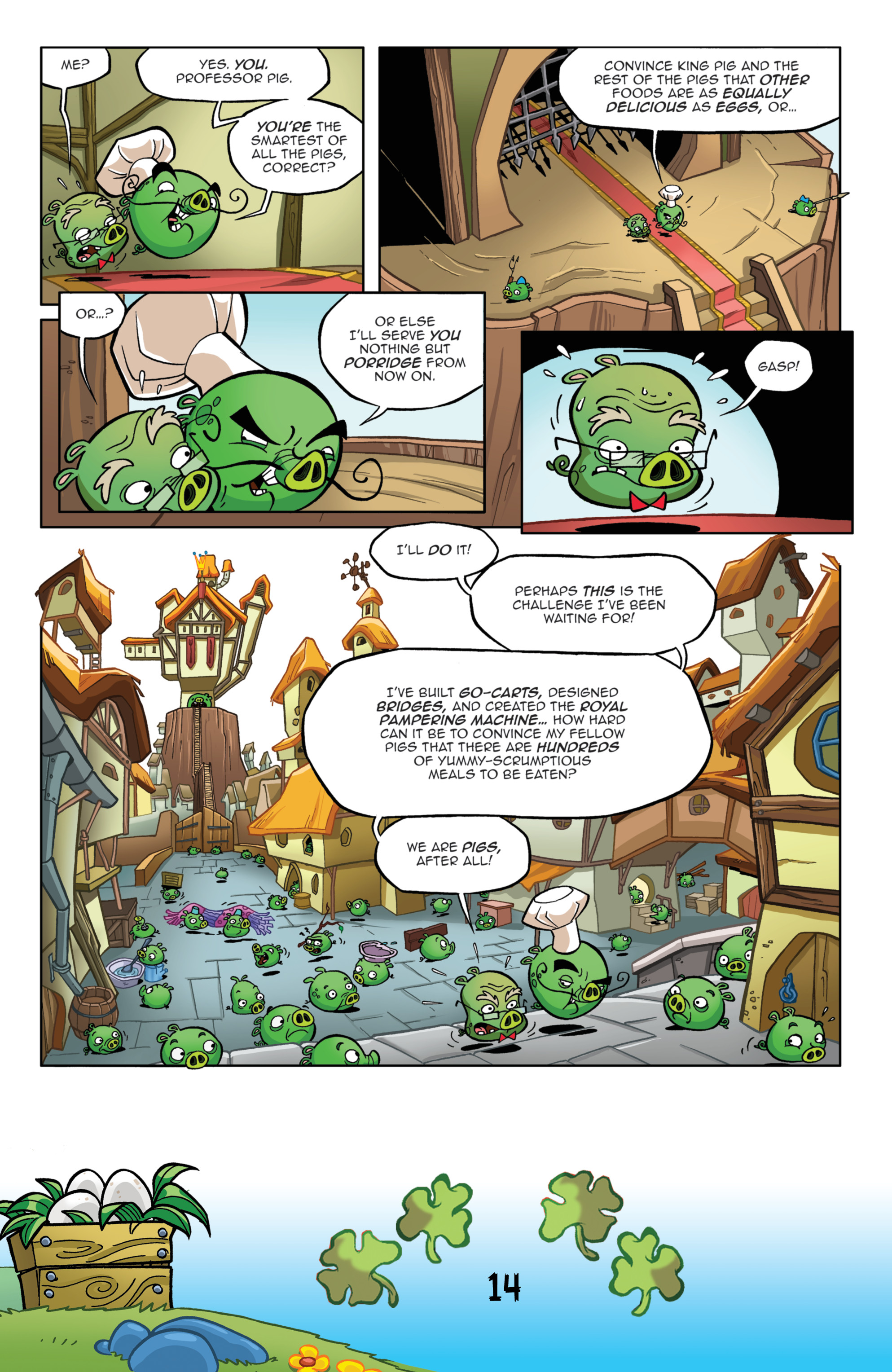 Read online Angry Birds Comics (2016) comic -  Issue #3 - 16