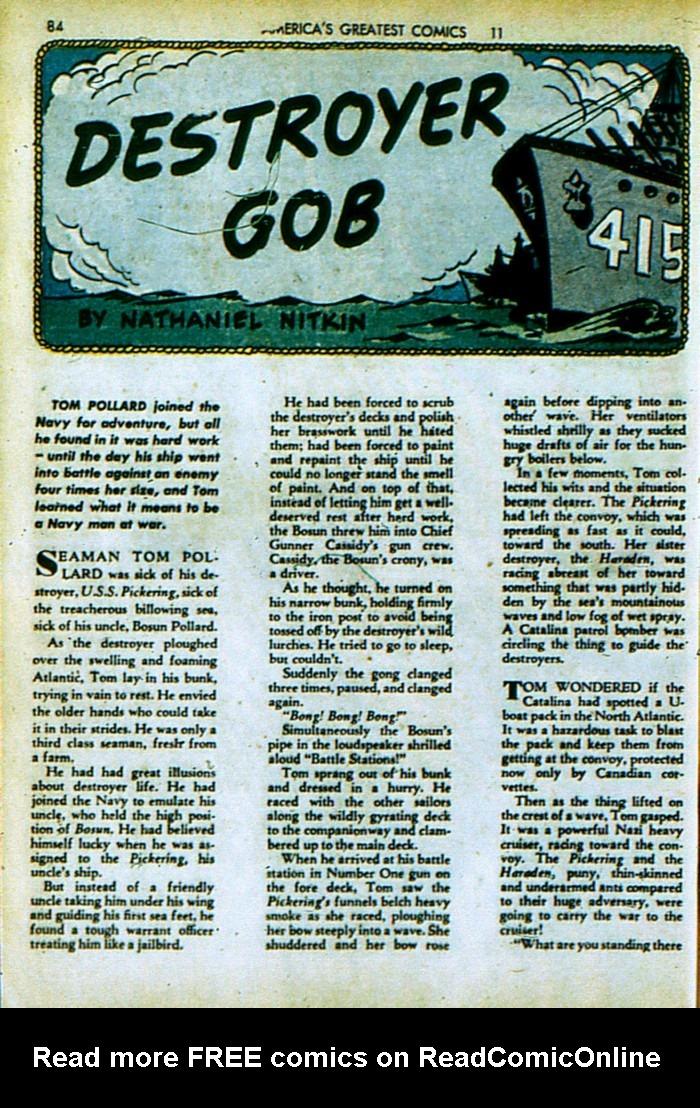 Read online America's Greatest Comics comic -  Issue #4 - 85