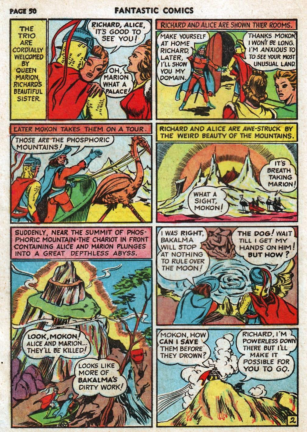 Read online Fantastic Comics comic -  Issue #17 - 51