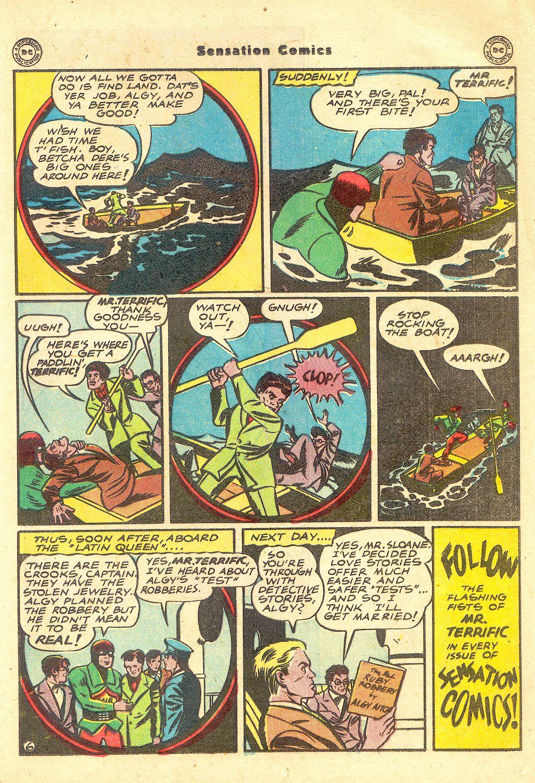 Read online Sensation (Mystery) Comics comic -  Issue #57 - 37