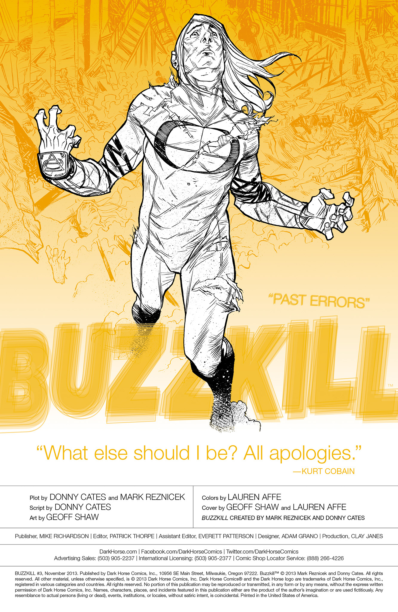 Read online Buzzkill comic -  Issue #3 - 2