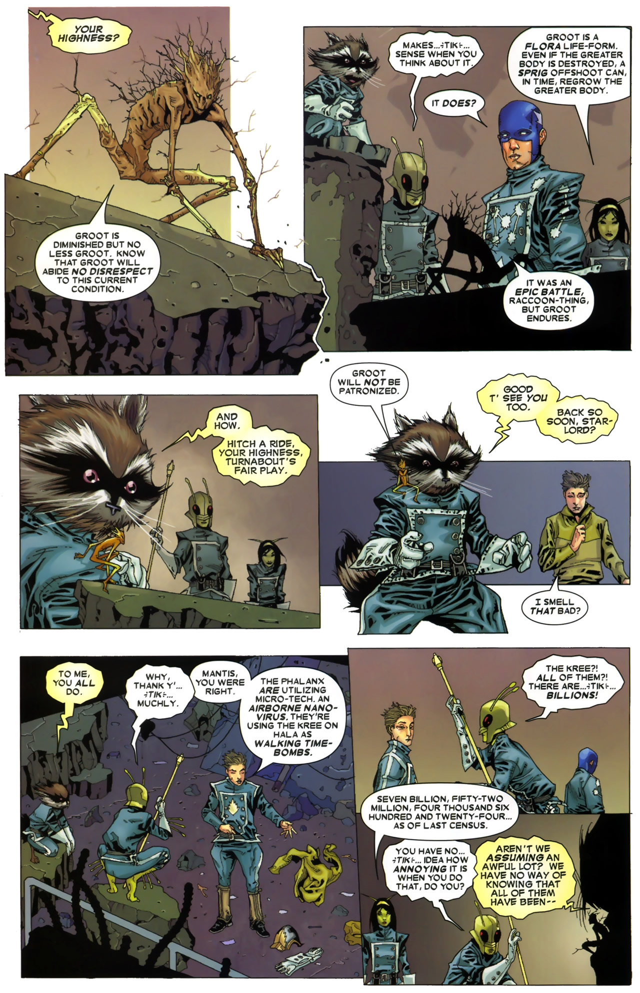 Read online Annihilation: Conquest - Starlord comic -  Issue #3 - 8