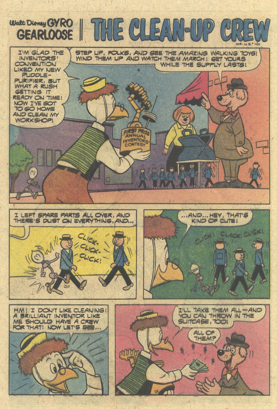 Read online Uncle Scrooge (1953) comic -  Issue #175 - 16